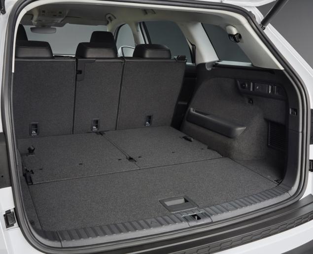 Skoda Kodiaq 4x4 7-seat SUV road test review UK - boot