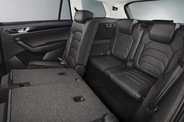 Skoda Kodiaq 4x4 7-seat SUV road test review UK - rear seats