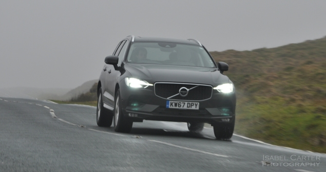 Oliver Hammond motoring blogger car reviews Petroleum Vitae blog - new Volvo XC60 D4 Momentum Pro - driving front 34b
