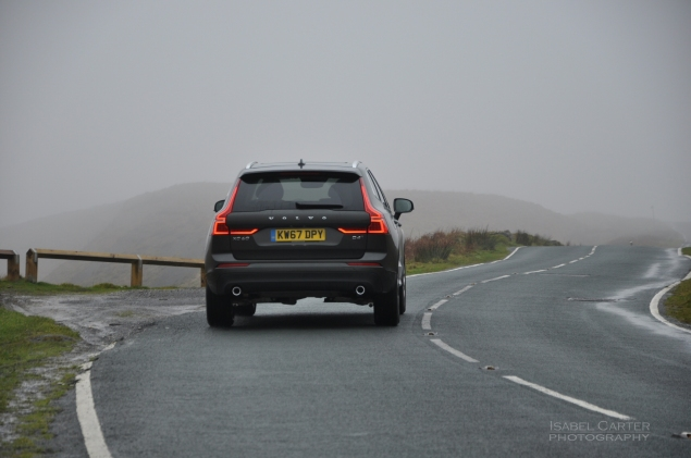 Oliver Hammond motoring blogger car reviews Petroleum Vitae blog - new Volvo XC60 D4 Momentum Pro - driving rear