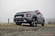 Exterior artistic - Citroen C3 Aircross compact small SUV crossover road test review 1.2 petrol Flair Oliver Hammond blogger writer journalist Petroleum Vitae