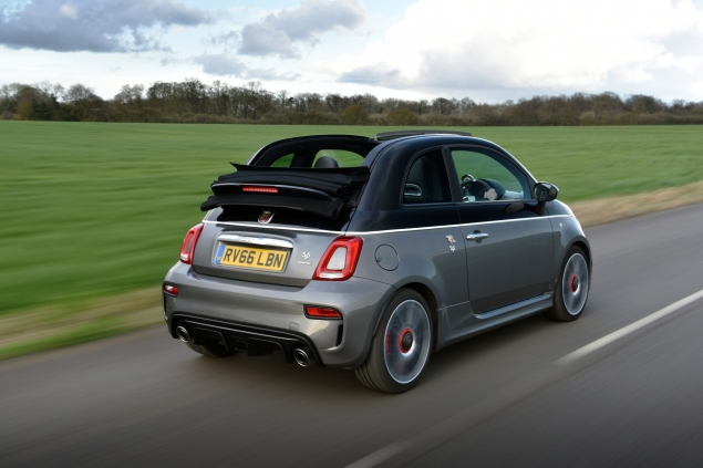 Abarth 595c rear