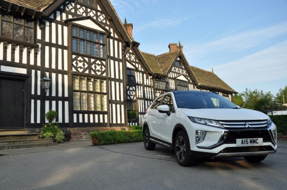Mitsubishi Eclipse Cross 4 1.5 petrol manual 2WD road test review Oliver Hammond white
