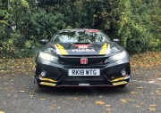 Danielle Bagnall Honda Civic Type R BTCC replica road test review journalist blog - front