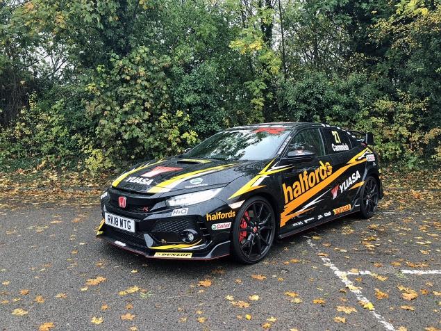 Danielle Bagnall Honda Civic Type R BTCC replica road test review journalist blog - side