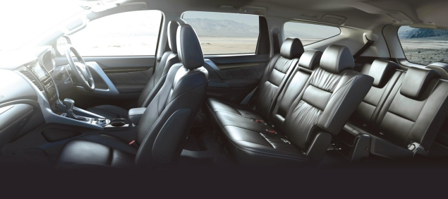 Mitsubishi Shogun Sport road test review Oliver Hammond - photo interior 7 seats boot space