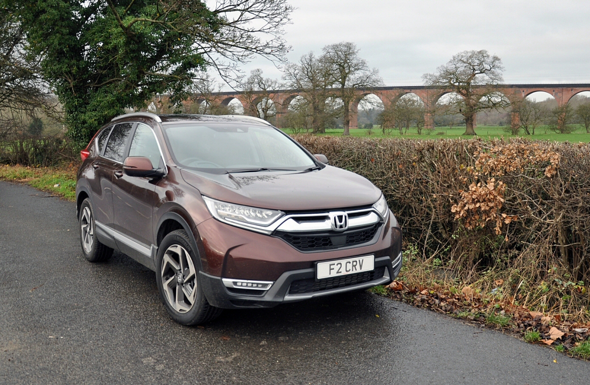 Driven: the new Honda CR-V 1.5T VTEC EX AWD CVT