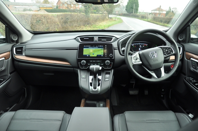 New Honda CR-V 2018 2019 UK road test review - interior infotainment seats boot